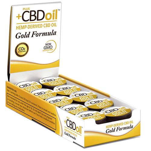 PlusCBD Oil Gold Formula Grams