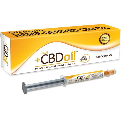 PlusCBD Oil Gold Formula Oral Applicators