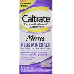 Caltrate Minis Plus Minerals