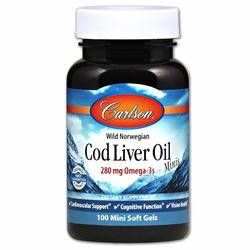 Carlson Labs Cod Liver Oil Minis