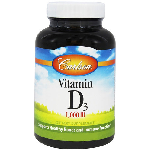 Carlson Labs Vitamin D3 - 1,000 IU - 250 Softgels