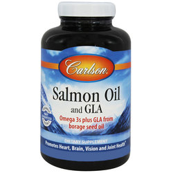 Carlson Labs Salmon Oil and GLA