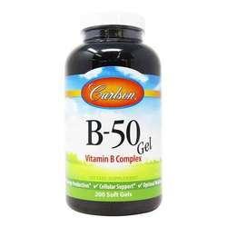 Carlson Labs B-50 Gel Vitamin B Complex