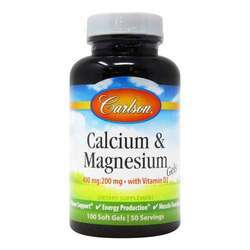 Carlson Labs Liquid Calcium and Magnesium with Vitamin D3
