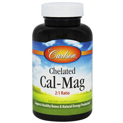 Carlson Labs Chelated Cal-Mag 2:1 Ratio