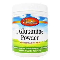 Carlson Labs L-Glutamine Powder