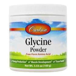 Carlson Labs Glycine Amino Acid Powder