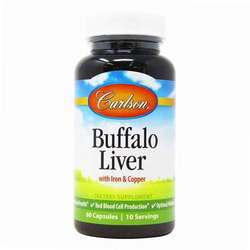 Carlson Labs Buffalo Liver