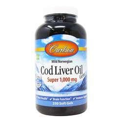 Carlson Labs Wild Norwegian Cod Liver Oil Gems