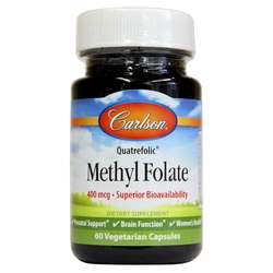 Carlson Labs Methyl Folate