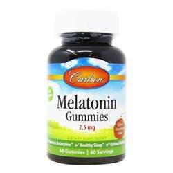 Carlson Labs Melatonin Gummies 2.5 mg