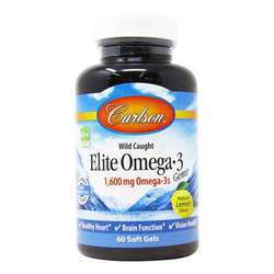Carlson Labs Wild Caught Elite Omega-3 Gems