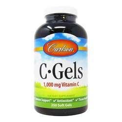 Carlson Labs C Gels 1,000 mg Vitamin C