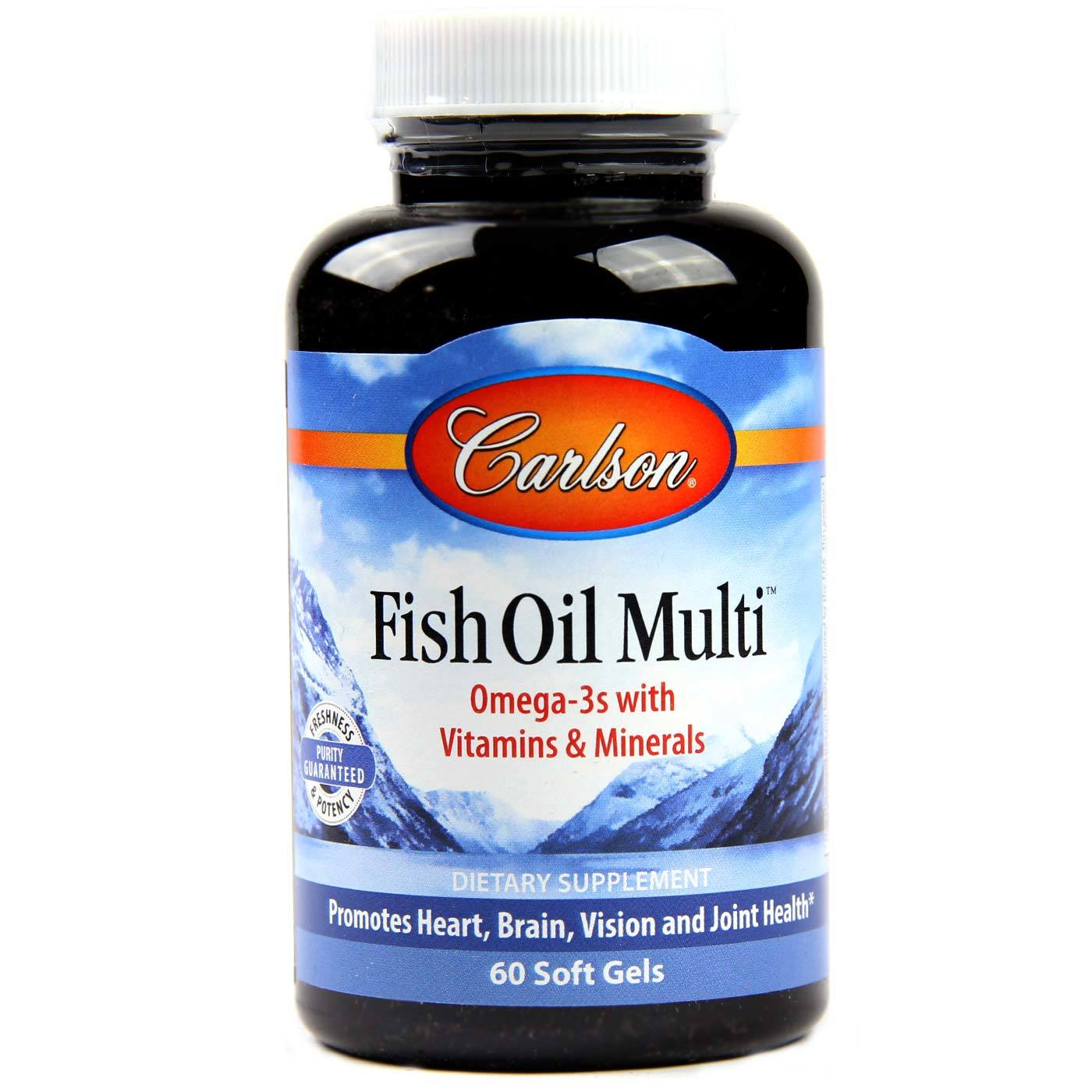 Carlson labs fish oil multi 60 soft gels for Carlson labs fish oil