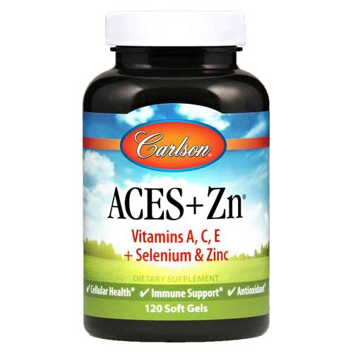 Carlson Labs Aces + Zn - 120 Softgels - 683_front.jpg