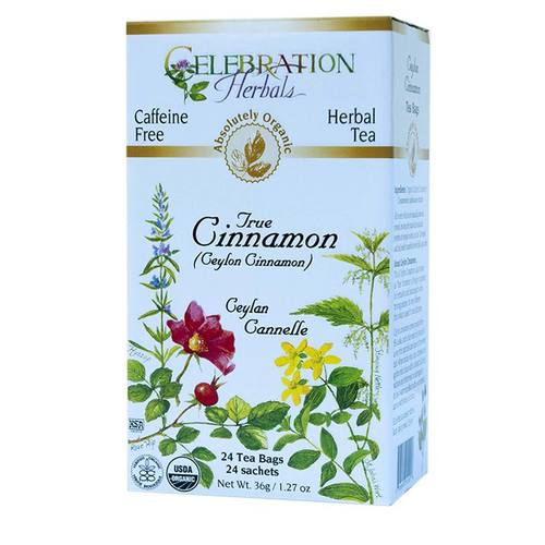 Celebration Herbals Herbal Tea Cinnamon - True Ceylon - 24 bags