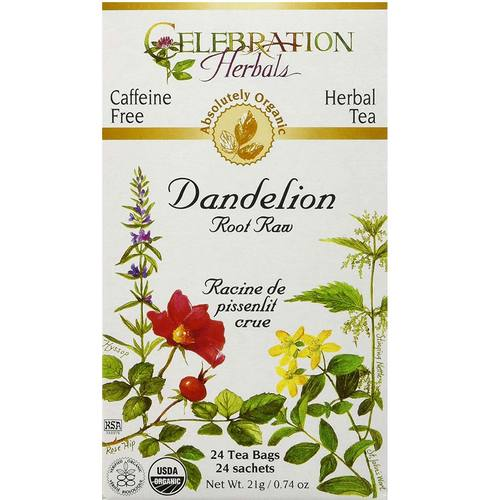 Celebration Herbals Herbal Tea Dandelion - Root - 24 Bags - 18301_01.jpg