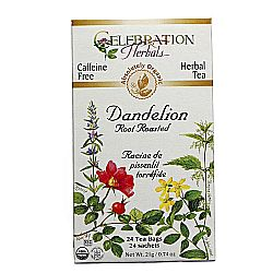 Celebration Herbals Dandelion Root Roasted Tea