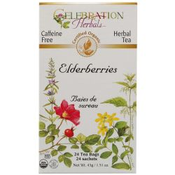 Celebration Herbals Organic Elderberries Tea