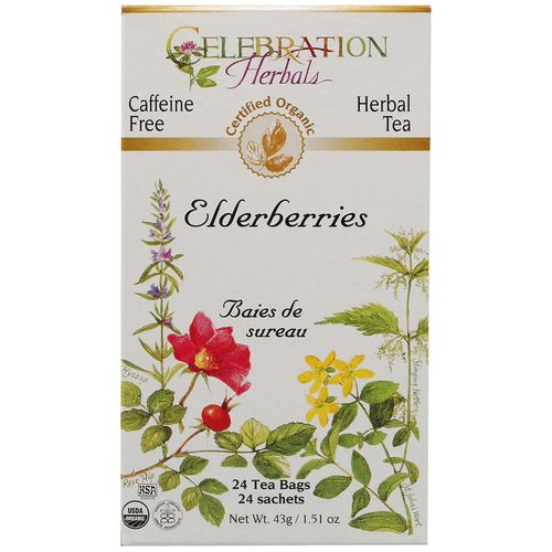 Organic Elderberries Tea