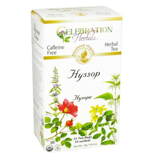 Celebration Herbals Herbal Tea Hyssop - 24 Bags
