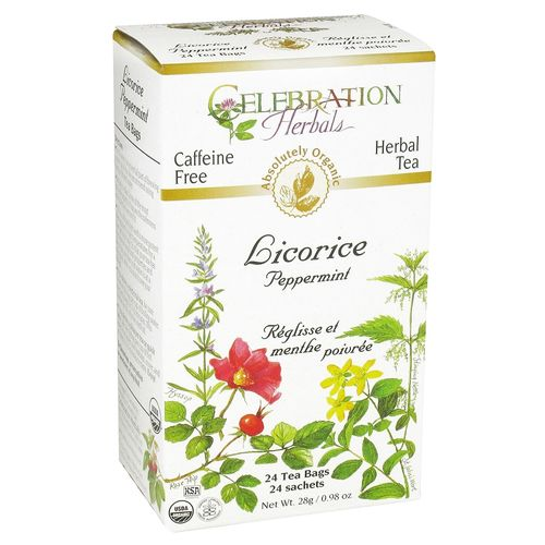 Licorice Peppermint Tea
