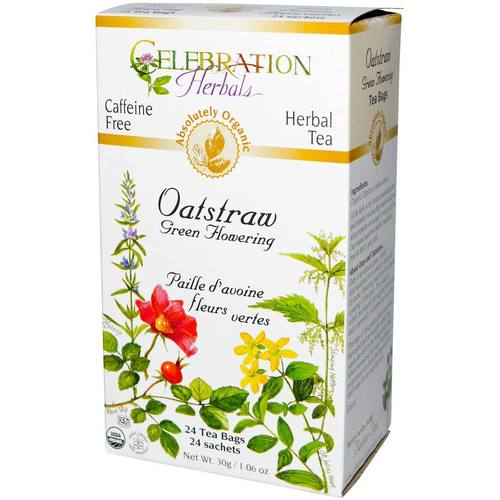 Oatstraw Green Flowering Tea Org by Celebration Herbals - 24 Bags - 18335_01.jpg
