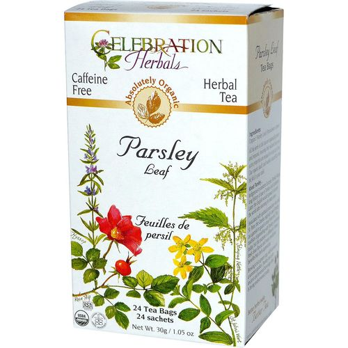 Celebration Herbals Herbal Tea Parsley Leaf - 24 Bags