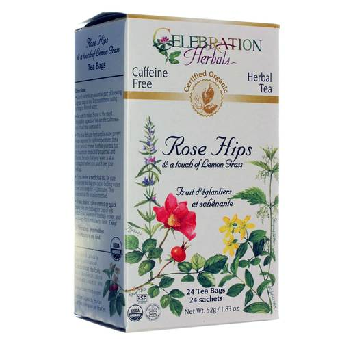 Organic Rose Hips and Lemongrass Tea