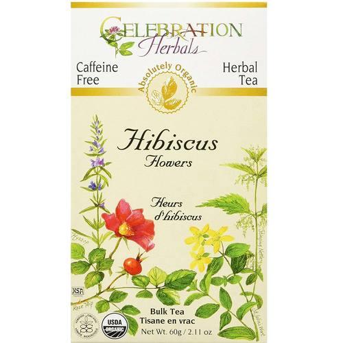 Celebration Herbals Herbal Tea Hibiscus Flower 211 Oz Loose