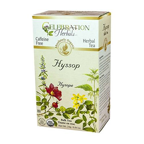 Celebration Herbals Herbal Tea Hyssop - 1.41 oz Loose Leaf - 19116_01.jpg