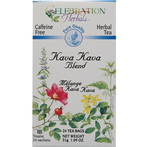Celebration Herbals Tea Blend Kava Kava - Blend - 24 Bags