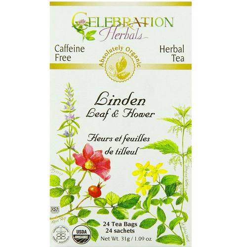 Celebration Herbals Herbal Tea Linden - Leaf & Flower - 24 bags - 19127_01.jpg