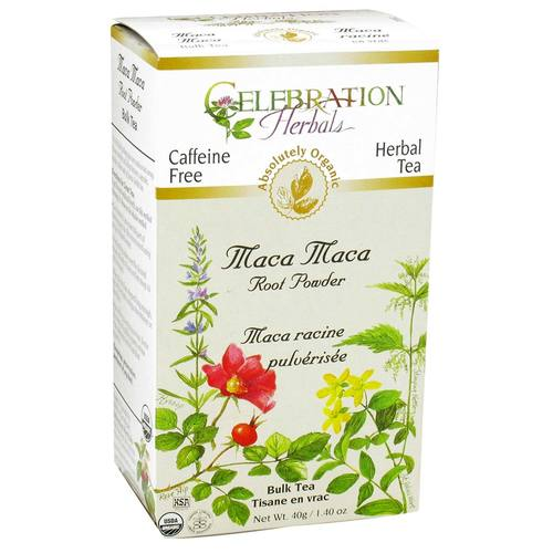 Celebration Herbals Té Herbal de Maca - Raíz - 1.40 oz Polvo