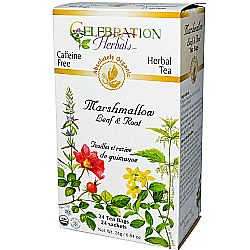 Celebration Herbals Marshmallow Leaf and Root Herbal Tea