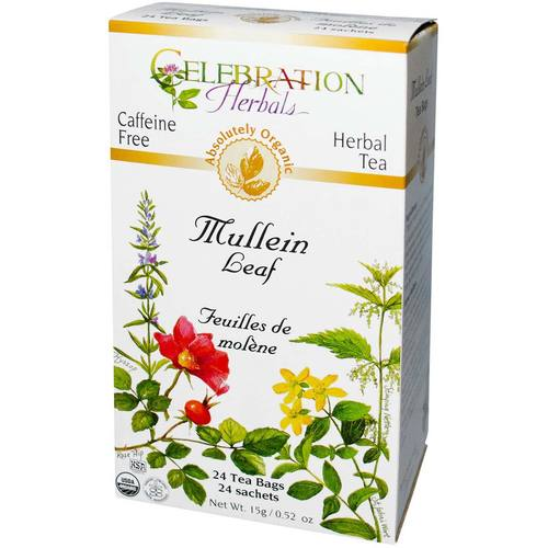 Celebration Herbals Herbal Tea Mullein Leaf - 24 Bags - 19133_001.jpg
