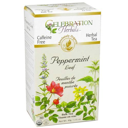 Celebration Herbals Herbal Tea Peppermint - Leaf - 1.76 oz Loose Leaf