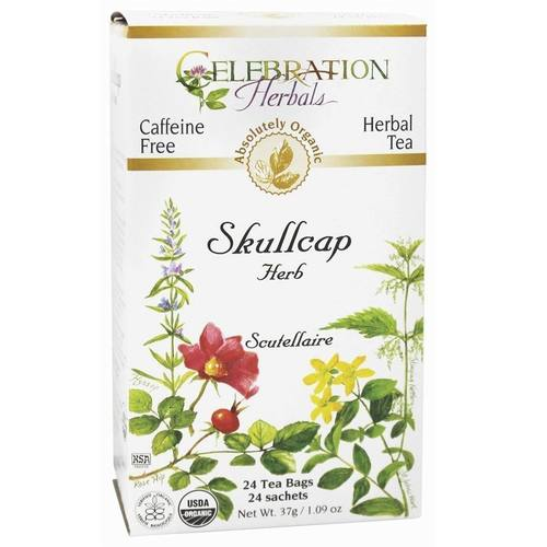 Celebration Herbals Herbal Tea Skullcap - Herb - 24 bags - 19173_01.jpg