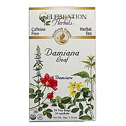 Celebration Herbals Organic Damiana Leaf Tea