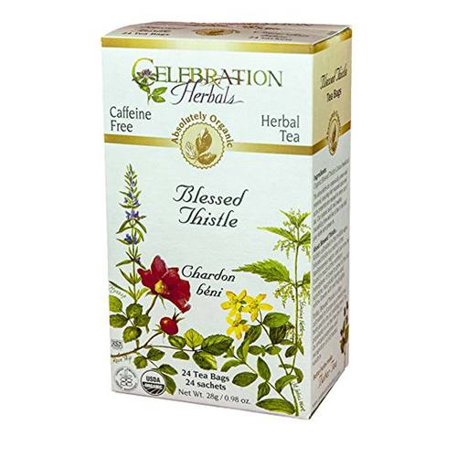 Celebration Herbals Herbal Tea Blessed Thistle - 24 bags