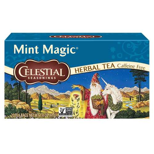 Celestial Seasonings Herbal Tea Mint - Magic - 20 Bags - 5043_front.jpg