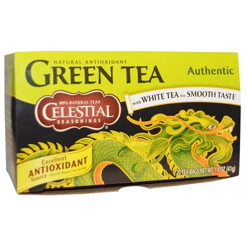 Celestial Seasonings Green Tea White Tea - 20 Bags - 5072_01.jpg