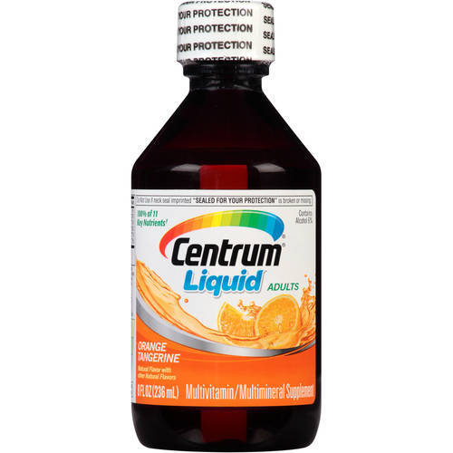Adult Liquid Multivitamin/Mineral Supplement