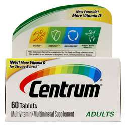 Centrum Adults Under 50 Multivitamin-Multimineral Supplement