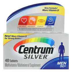Centrum Silver Men's 50 + Multivitamin
