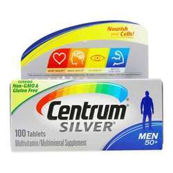 Centrum Silver Men's 50 + Plus Multivitamin