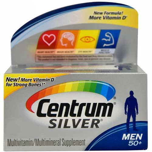Silver Men's 50 Plus Multivitamin