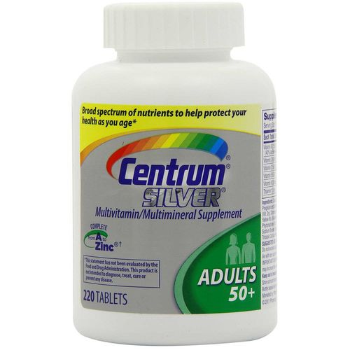 Silver Adult's 50+ Multivitamin