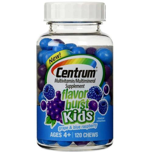 Flavor Burst Kids Mixed Fruit Multivitamin