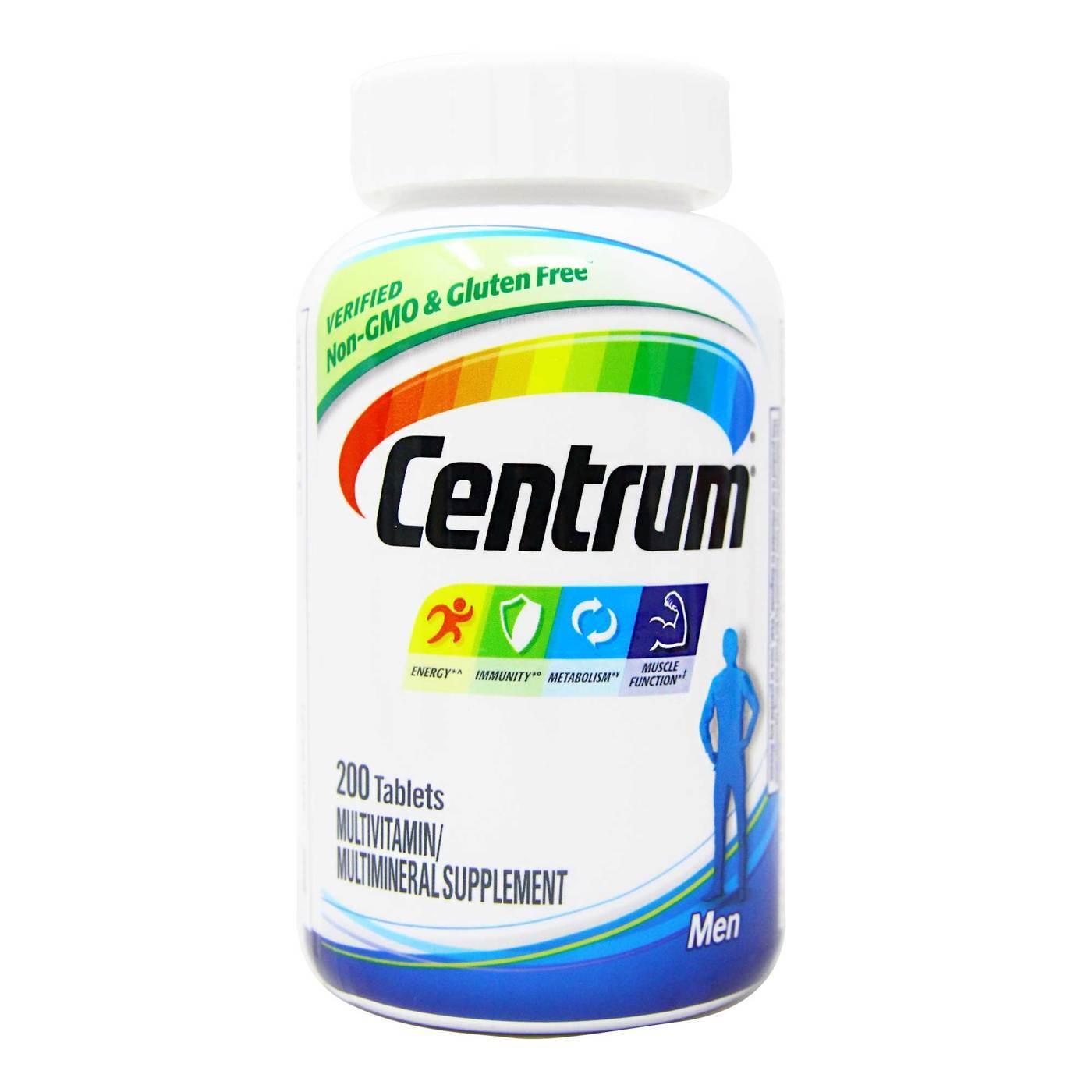 que contiene las vitaminas centrum mujer